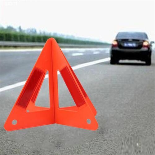 Warning Triangle Emergency Breakdown Foldable Sign Car Hazard Refletive Car FI