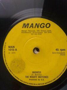 The-Mighty-Maytones-Madness-7-034-Vinyl-Single-1976-UK-COPY