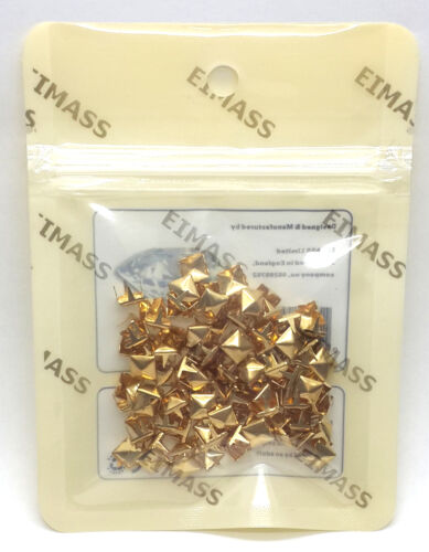 EIMASS® 2188 Claw Studs Rivet 100 x Grade A Pyramid Spike Cone Studs Craft