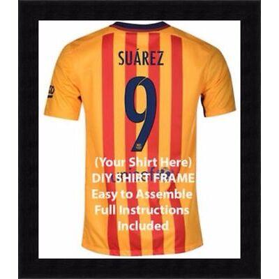 Football shirt display frame, Shirt for football shirts, Ready made shirt frame