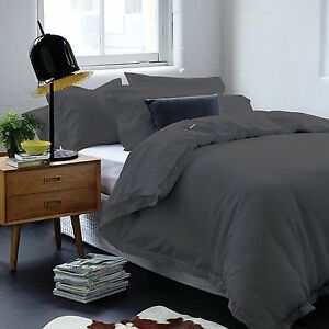 Gainsborough-Harper-Slate-100-Cotton-Waffle-Doona-Quilt-Cover-Set-in-All-Sizes
