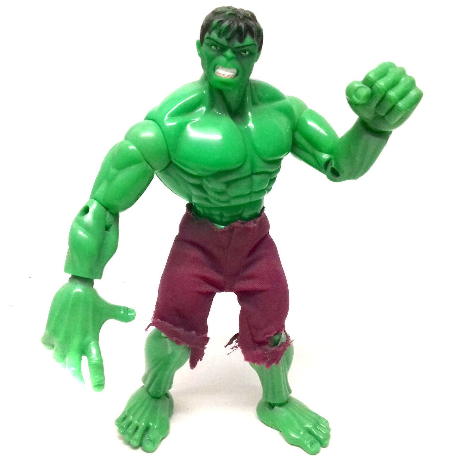 Vintage 90's MARVEL FAMOUS COVERS  9  HULK figure in great condition RARE ITEM