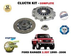 Para-Ford-Ranger-2-5TD-WL-1999-12-2006-nuevo-3-piezas-Kit-de-embrague-completa-OE
