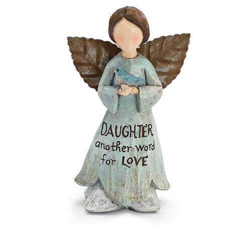 "/""Daughter Word for Love/"" Burton BURTON Angel Figurine Keepsake for Daughter"