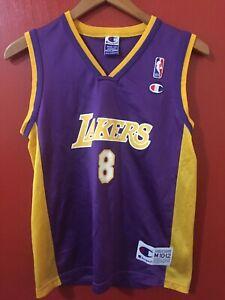 Kobe Bryant #8 Champion Kid's Jersey Size Medium 10-12 Los Angeles ...