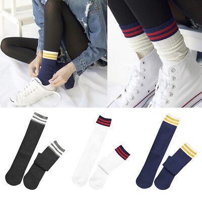 Fashion Women Cotton Striped Socks Soft Cute Solid Short Sport Casual Hosiery