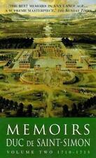 Memoirs Duc De Saint-Simon: 1710-1715 (Lost Treasures) by