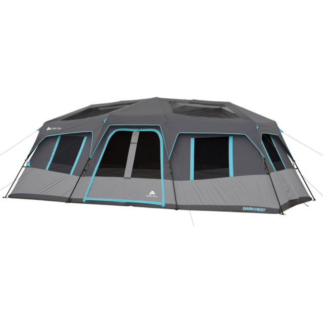 Ozark Trail 20 x 10ft. Dark Rest Instant Cabin Tent for 12 P