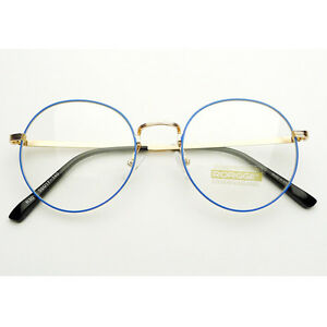 Vintage-Inspired-Round-Glasses-Eyeglasses-Clear-Lens-Circle-Sunglasses-Eyewear
