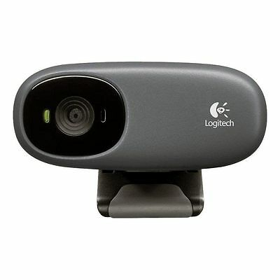 Logitech Webcam C110 Web Cam w/ Built-in Microphone USB 2.0 - NEW in SEALED BOX