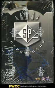 1993 Upper Deck SP Foil Baseball Factory Sealed Hobby Box, Derek Jeter ROOKIE?