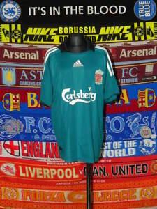 huge discount 02e31 fd9eb Details about 4.5/5 Liverpool boys 13/14 yrs 164cm football shirt jersey  trikot camiseta