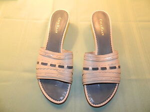 Image is loading COLE-HAAN-RESORT-SANDALS-9B-MADE-IN-BRAZIL-