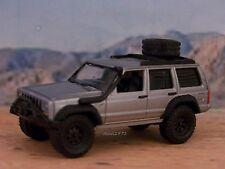 1984 - 2001 JEEP CHEROKEE XJ 4X4 OFF ROAD COLLECTIBLE MODEL - 1/64 DIORAMA