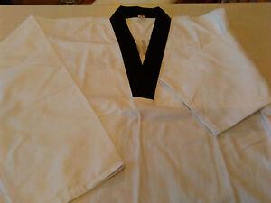 Taekwondo-Suit-Uniform-Adult-Size-4-Height-170-cm-5ft-4-034-to-5ft-8-034-NEW-Equipe