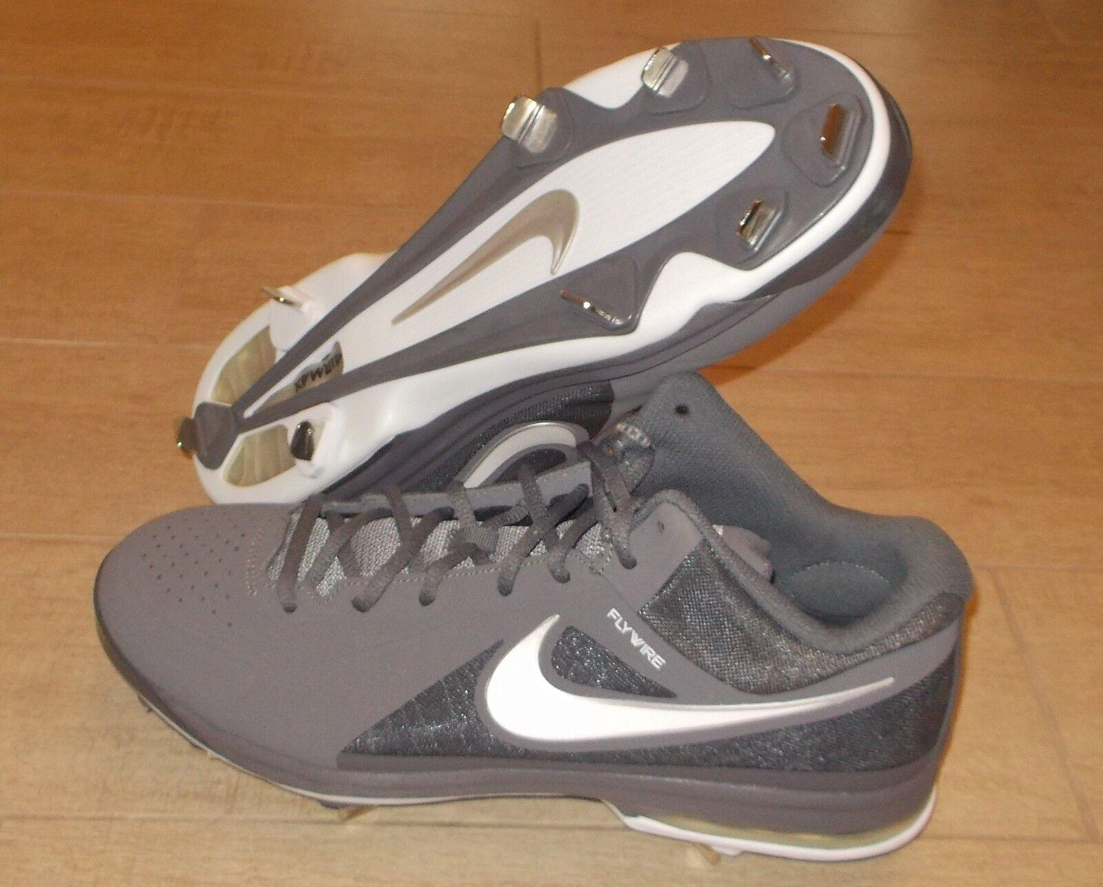 Nuove nike elite air max mvp elite nike 3 / 4 di metallo grigio scuro scarpe da baseball Uomo 12 120 4d75ba