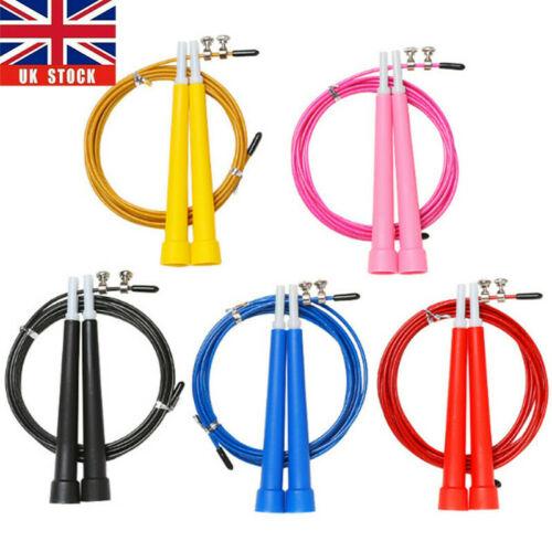 Speed Skipping Rope Boxing Jumping Crossfit Weight Loss Home Exercise Adjustable