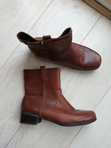 Footglove Ladies Chesnut Brown Real