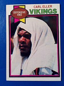 1979-CARL-ELLER-Topps-Football-Card-406-Minnesota-Vikings-Vintage