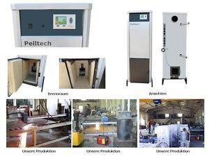 Pelltech 40kw Pelletheizung Brennerseite Wählbar Zentralheizung Bioenergie
