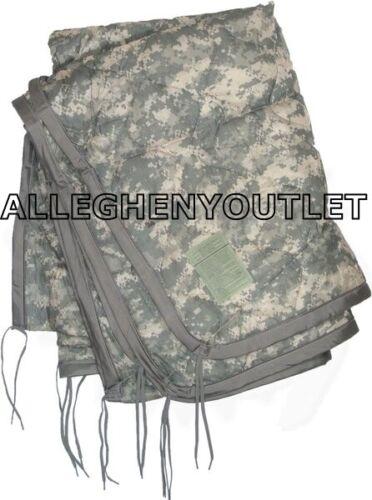 US Military Army ACU Digital Wet Weather PONCHO LINER Woobie Blanket VGC