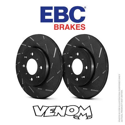 Abile Ebc Usr Dischi Freno Posteriore 302 Mm Per Volvo Xc70 2.0 Td 2010-usr1592-