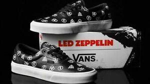 Beamten wählen beliebte Marke klassisch Details about Vans x Led Zeppelin Era Limited Edition Leather sneakers Size  10.5 Mens US Ship