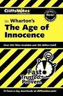 CliffsNotes on Wharton's The Age of Innocence by Susan Van Kirk (Paperback, 2003)