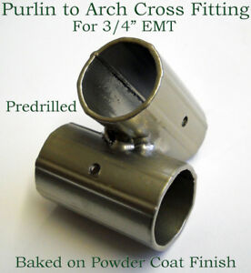 Details about Greenhouse Fitting Purlin to Arch Connector for 3/4