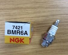 GENUINE NGK BMR6A SPARK PLUG LAWNMOWER CHAINSAW TRACTOR GENERATOR with resistor