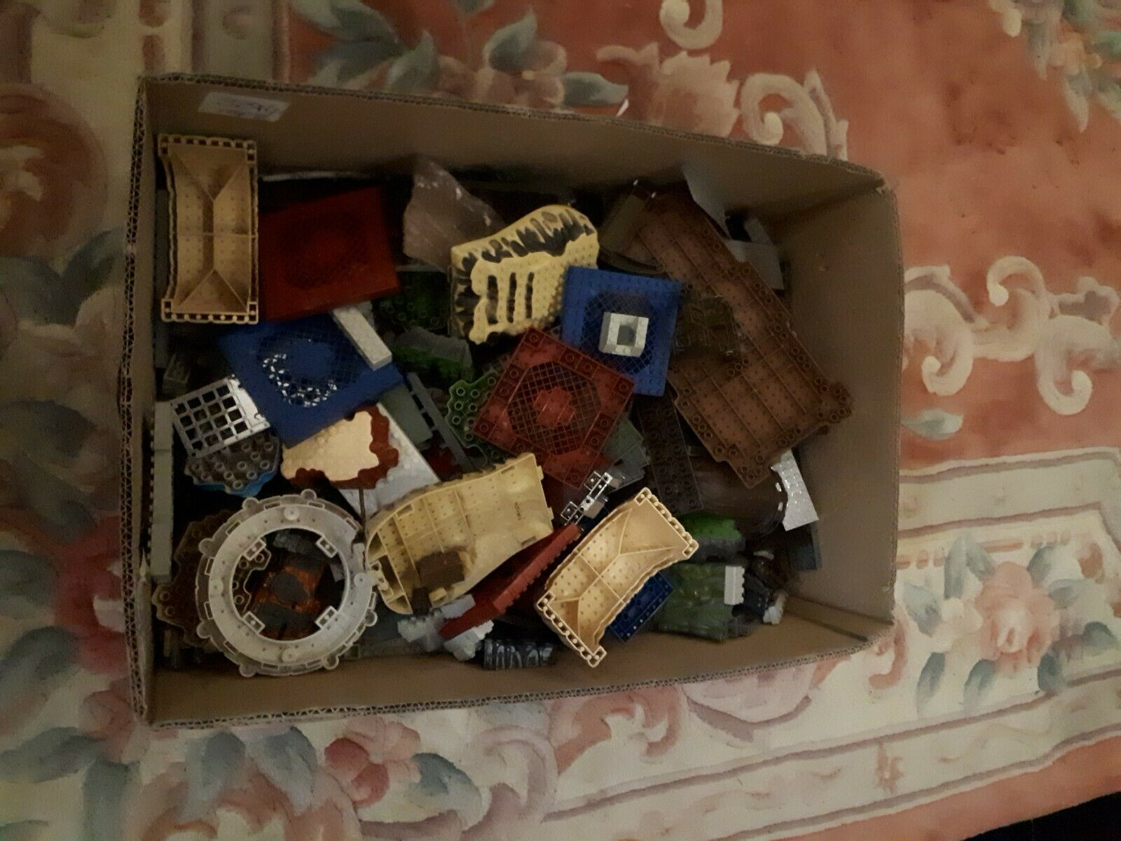 Joblot of LEGO Type Mega Bloks Bloks Bloks 2 Open Boxes Full Dragon Castle Etc e19b56