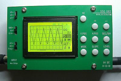 DSO062 TFT Digital Oscilloscope 1MHz Analog Bandwidth 20MSa/s DIY Kits + Probe