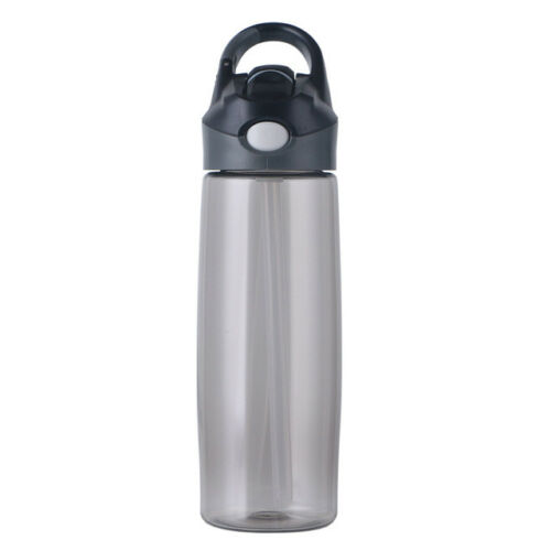 Sports Water Bottle With Straw Portable Handle Eco Plastic Travel Water Kettle