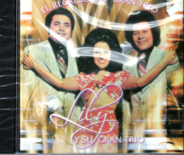 """Lily Y SU Gran Trio - """"El encima-CD"""