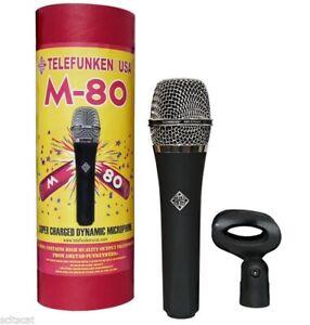 TELEFUNKEN Elektroakustik M80 Dynamic Live Stage Vocal Microphone STANDARD