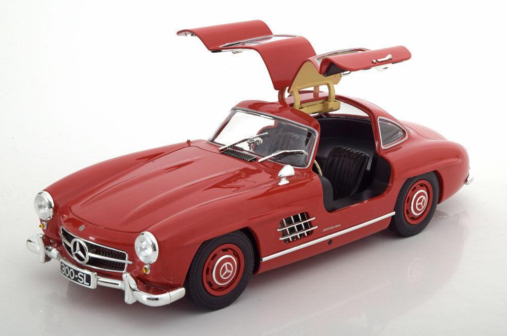 El nuevo outlet de marcas online. Minichamps 1955 Mercedes Benz 300 SL SL SL W198 GULLWING Rojo 1 18 Edición Limitada 300 un.New   100% precio garantizado