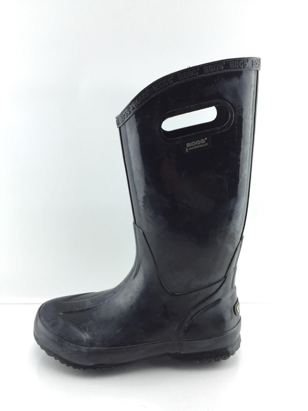 Bogs Women's Black Rubber Boots Rain Boots Rubber 6 59d1c1