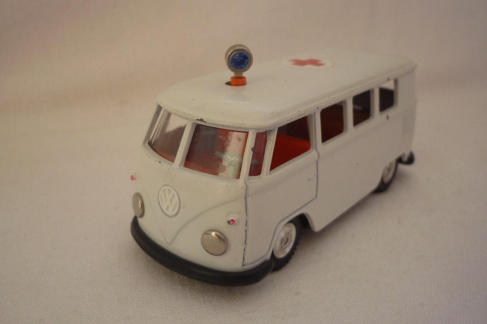 Gama - Mini-Modell - VW Bus - T 1 Bulli Red cross - No. 955 1 43 - (4.DIV-12)