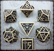 Q-Workshop Dwarven Beige Dungeons and Dragons D&D Dice Set