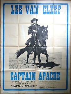 Plakat-Kino-Western-Captain-Apache-Lee-Van-Cleef-120-X-160-CM