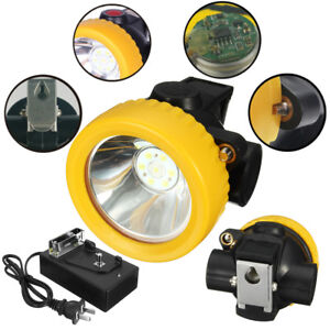1PCS-4500LUX-Miners-Cordless-Power-LED-Helmet-Light-Safety-Head-Cap-Lamp-Torch