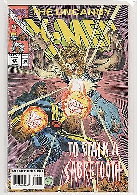 Uncanny X-men #311 John Romita Jr Bishop Sabretooth 9.6