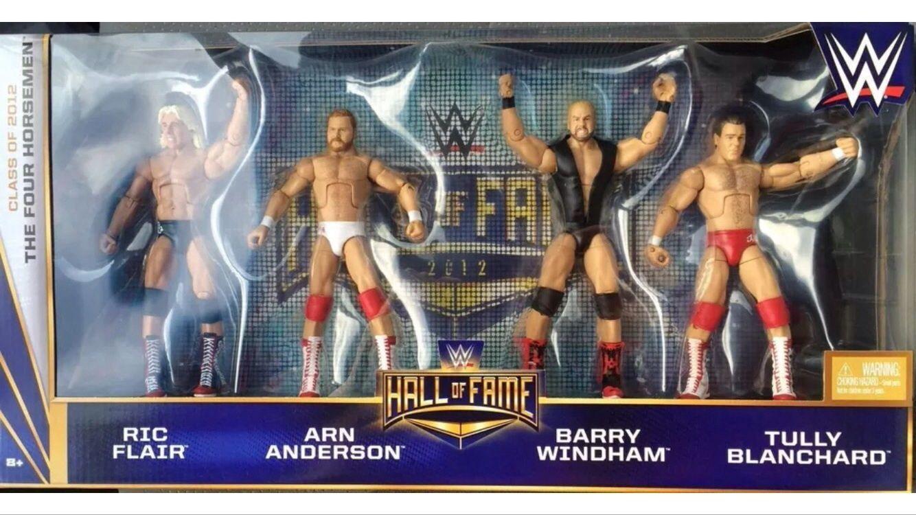 WWE MATTEL ELITE HOF HALL OF FAME FOUR PferdMAN NEW USA EXCLUSIVE UK FLAIR