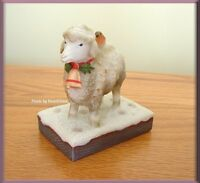Marjolein Bastin Nature's Journey Lamb Figure Free U. S. Shipping