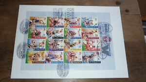 1996-AFL-CENTENARY-SET-OF-16-CLUBS-STAMPS-SHEET-FDC-6-DIFFERENT-FOOTY-POSTMARKS