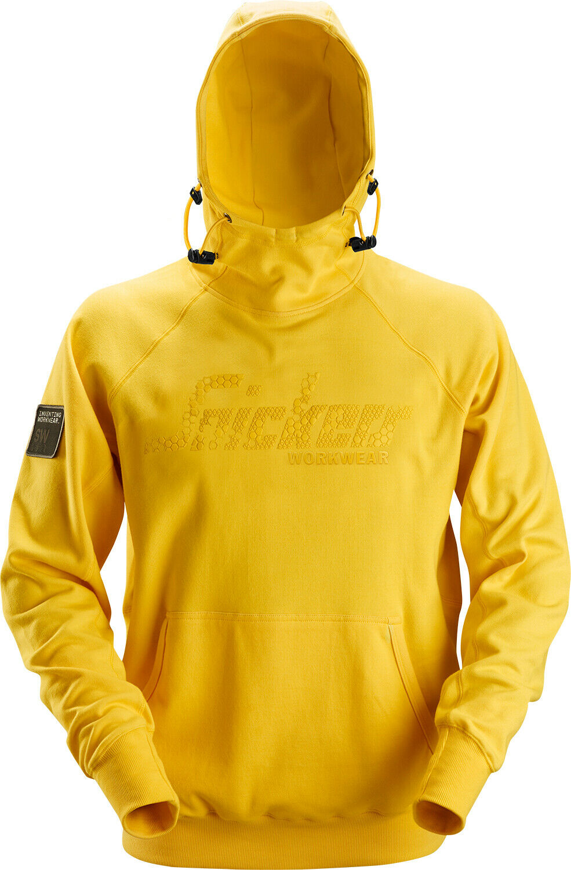 SNICKERS Logo Hoodie Giallo Con Cappuccio Pullover Pullover Pullover Maglione 601e47
