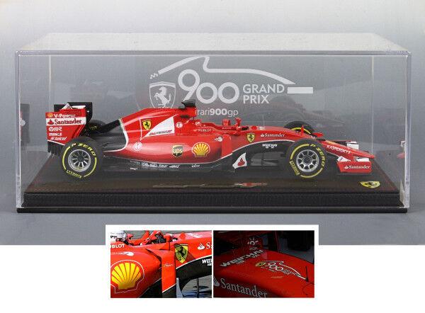 Mejor precio Ferrari SF15-T GP Belgio 2018 S.Vettel lim.ed.100 pcs  STSF15900 STSF15900 STSF15900 BBR MODELS  calidad fantástica