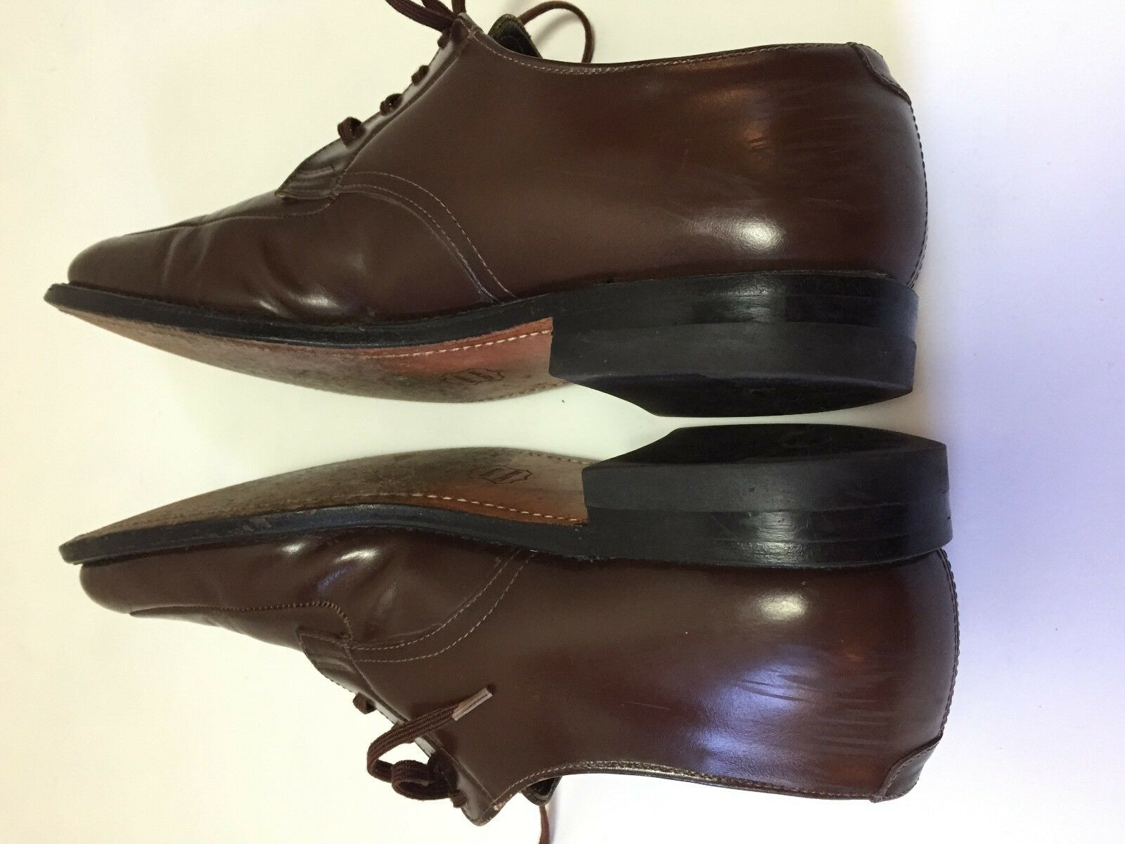 Executive Imperials   Herren Braun Dress Schuhes Made Oxfords Vibram 10 R Made Schuhes in USA Mason ad1592