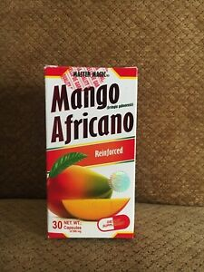 African Mango Reinforced Fat Burn Weight Loss 30 Caps Mango