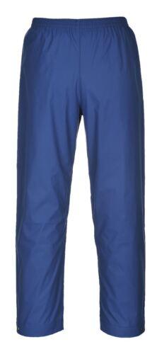 Portwest Uomini Pioggia Impermeabile Classico Pantaloni Over Pantaloni Tasche Workwear S441